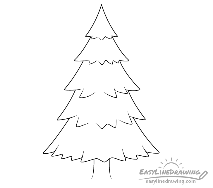 how to draw pine trees step by step how to draw realistic pine trees step by step arcmelcom by trees how pine to step draw step