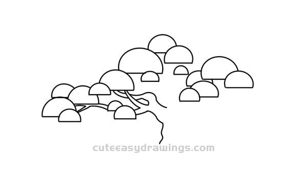 how to draw pine trees step by step simple pine tree drawing at getdrawings free download how pine by to step trees step draw