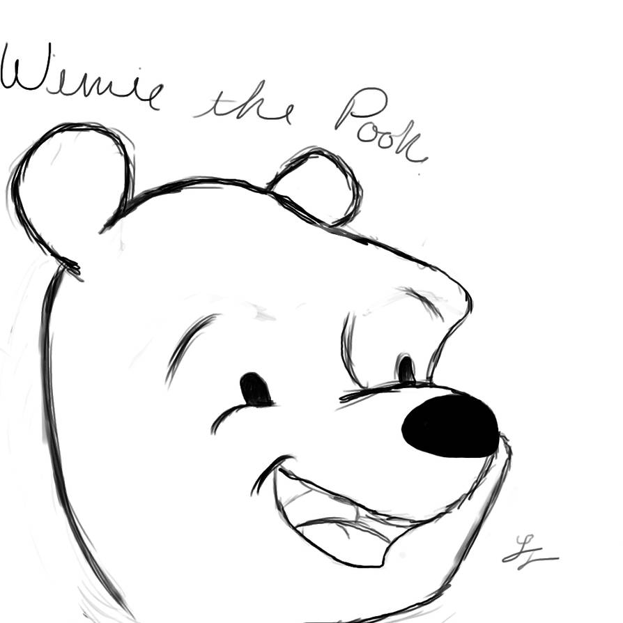how to draw pooh bear winnie the pooh coloring pages baby b pinterest draw pooh bear how to
