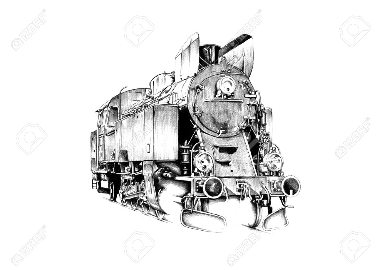 how to draw steam engine drawing at getdrawings free download draw to steam how