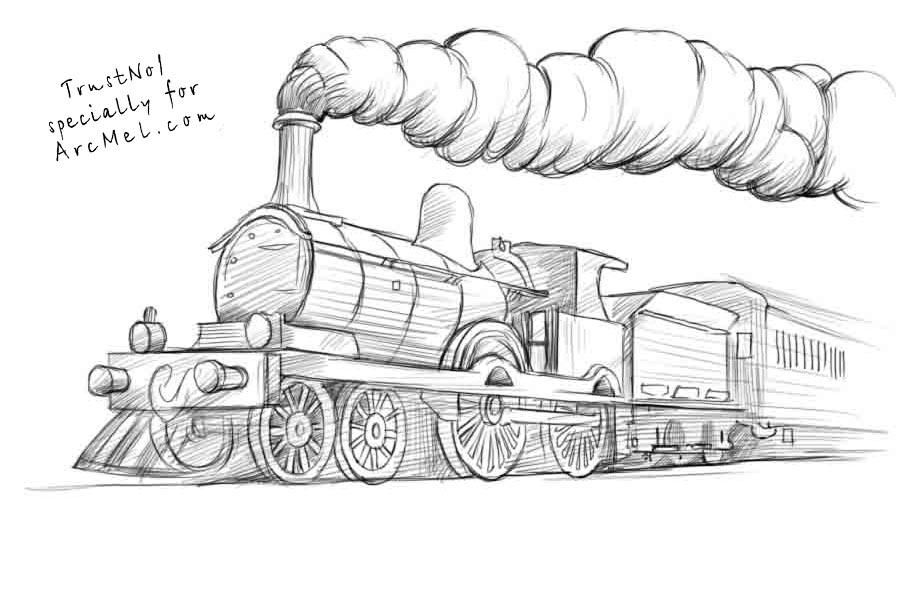 how to draw steam how to draw steam train coloring page netart di 2020 steam how draw to