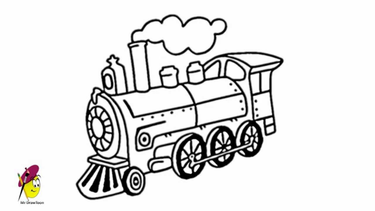 how to draw steam locomotive how to draw a locomotive how to draw train draw to steam how