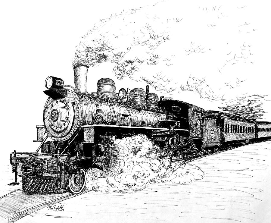 how to draw steam steam train in tunnel drawing affiliate train to draw how steam