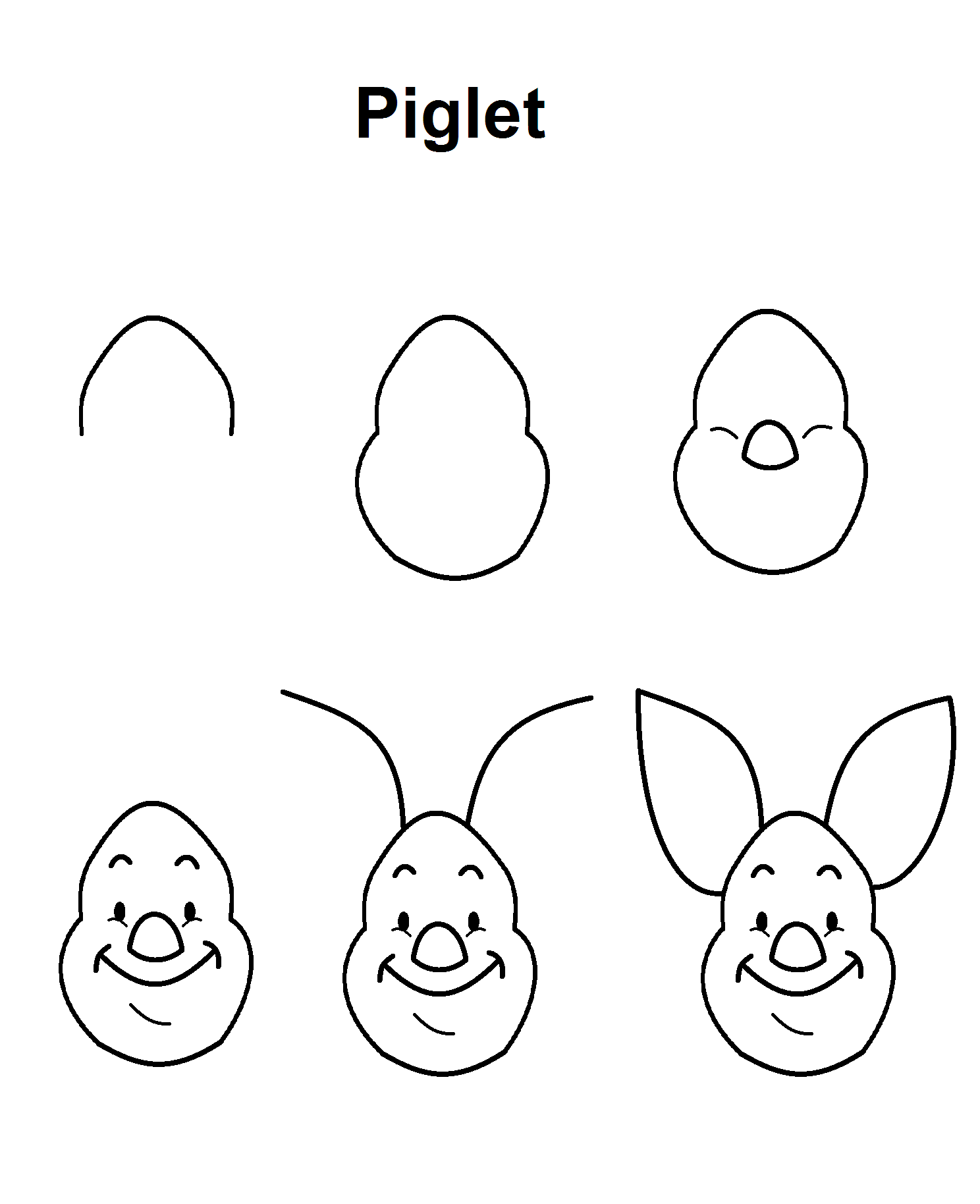 how to draw step by step disney characters drawing pinocchio to disney draw how step characters step by