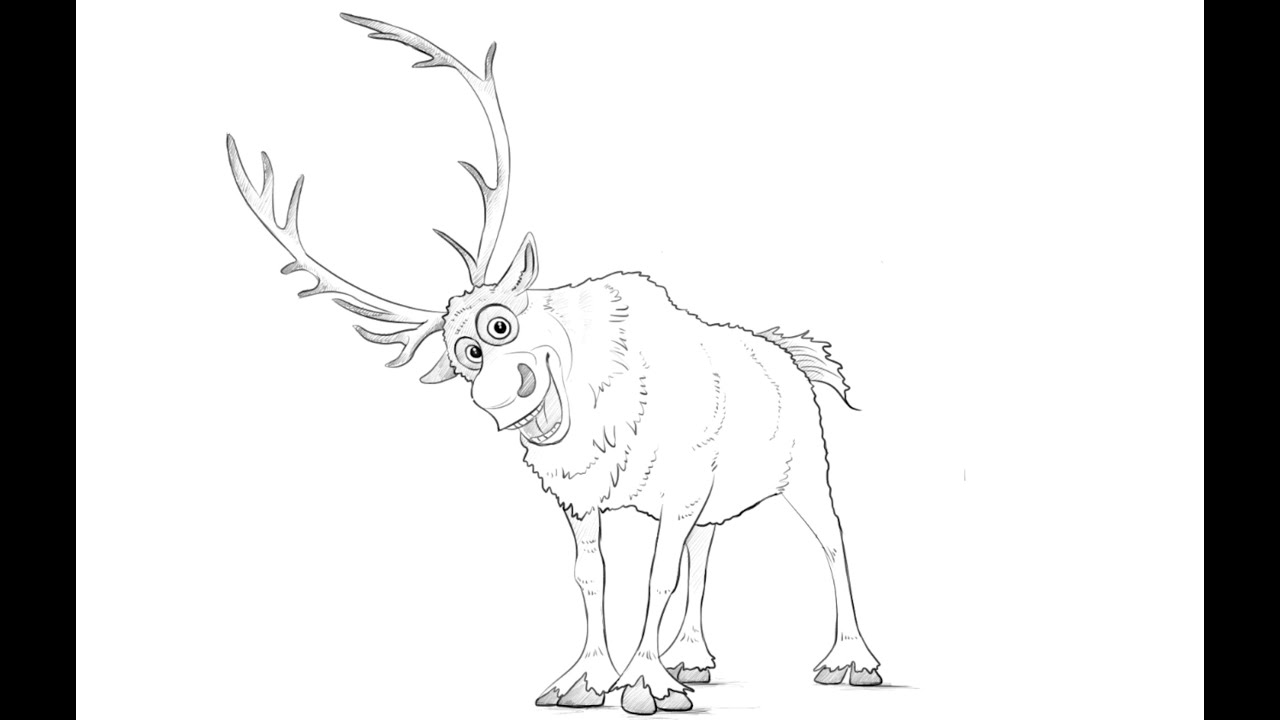 how to draw sven from frozen disney frozen sven png how to draw sven sven from baby from to frozen sven draw how