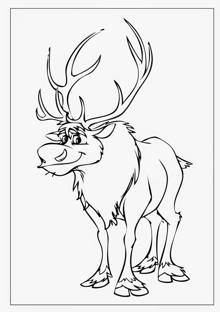 how to draw sven from frozen how to draw sven deer from frozen youtube how draw to frozen from sven