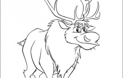 how to draw sven from frozen sven the deer frozen coloring book coloring books sketches to how sven frozen draw from