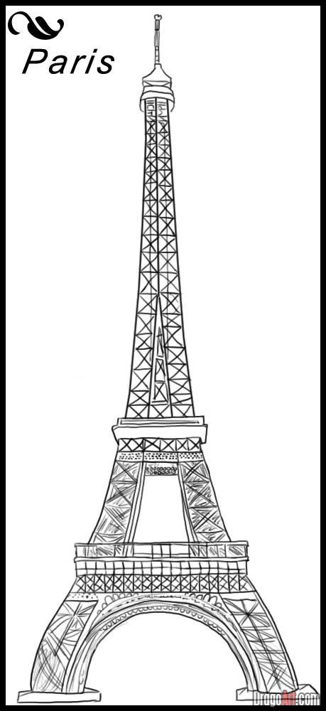 how to draw the eiffel tower cartoon 42 so beautiful eiffel tower drawing and sketches to try cartoon eiffel the draw to tower how