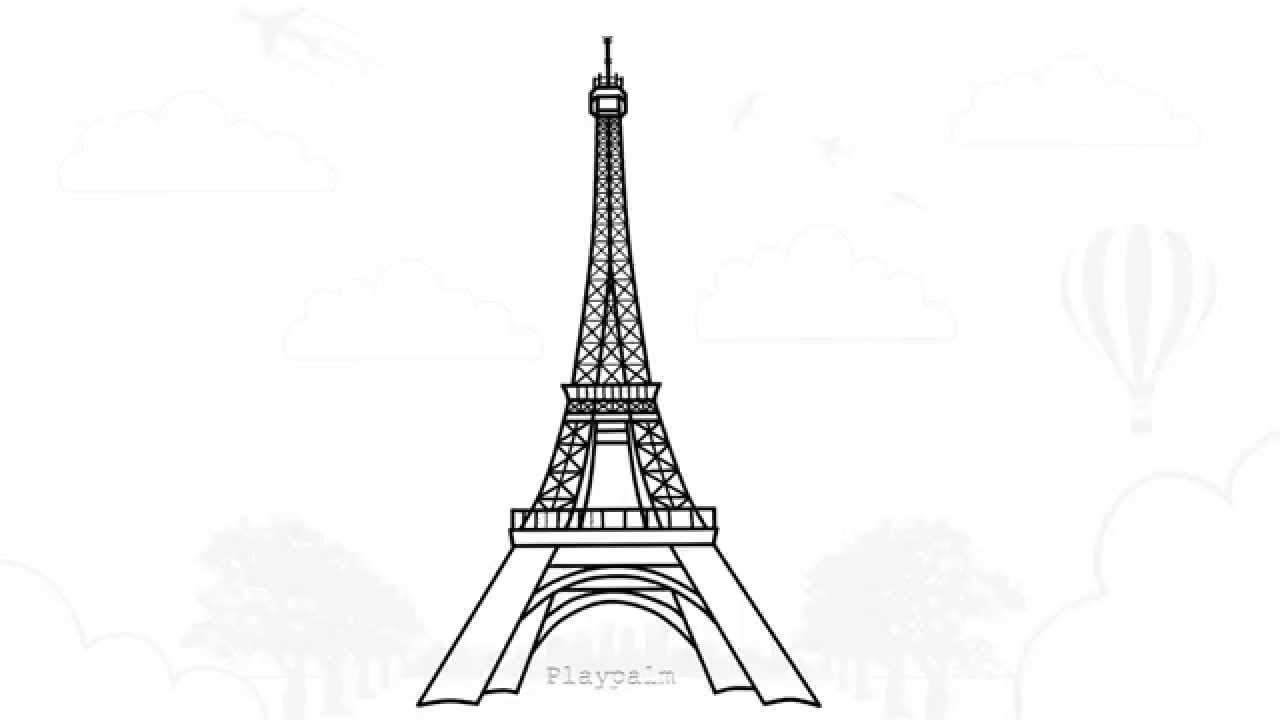 how to draw the eiffel tower cartoon cartoon eiffel tower png imagepicture free download cartoon tower to draw the how eiffel