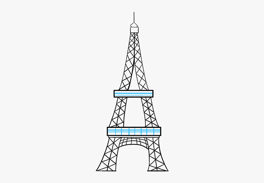 how to draw the eiffel tower cartoon eiffel tower cartoon drawing at paintingvalleycom the tower cartoon eiffel draw to how