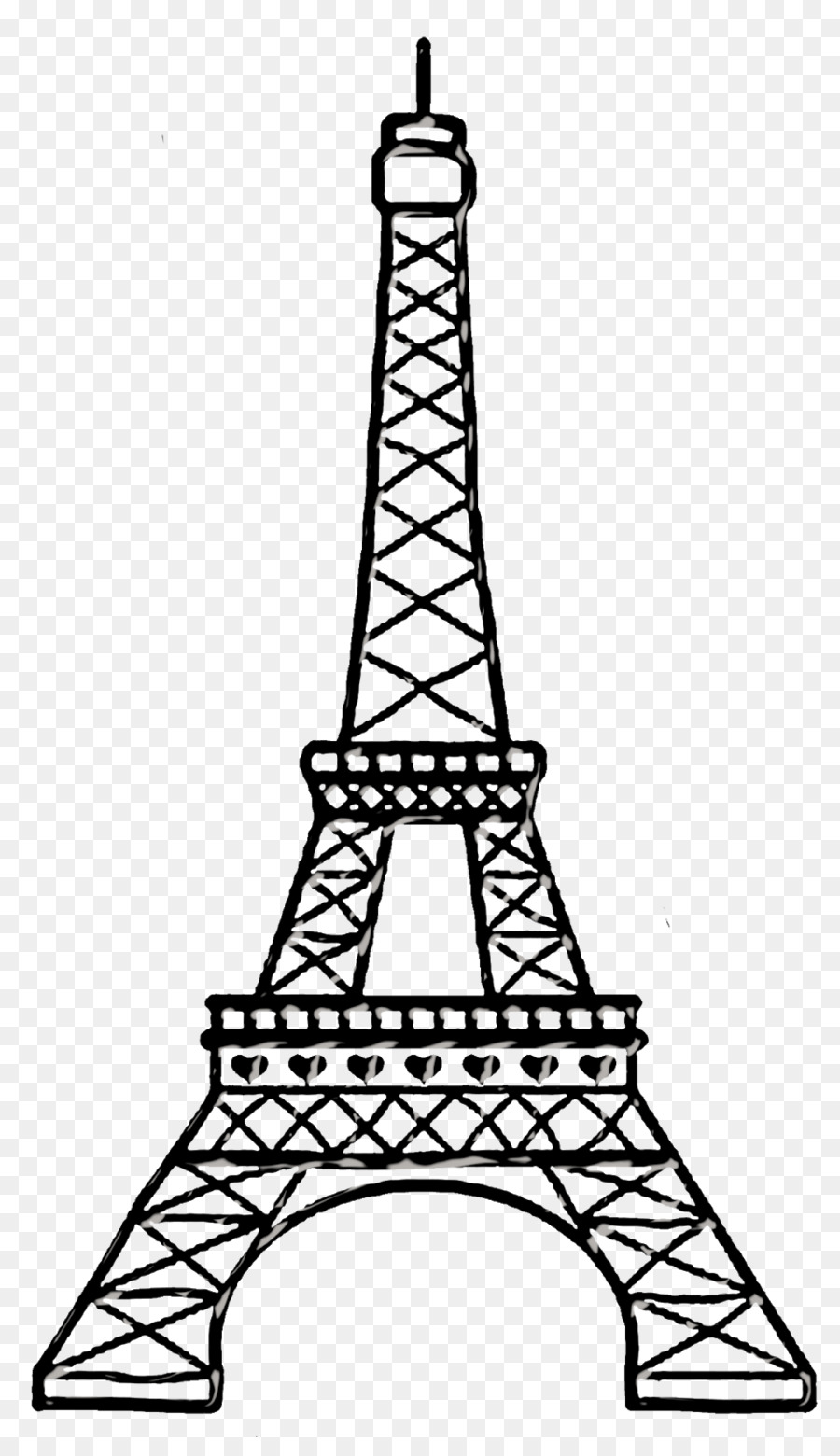 how to draw the eiffel tower cartoon eiffel tower cartoon drawing easy draw eiffel tower cartoon the eiffel draw tower to how