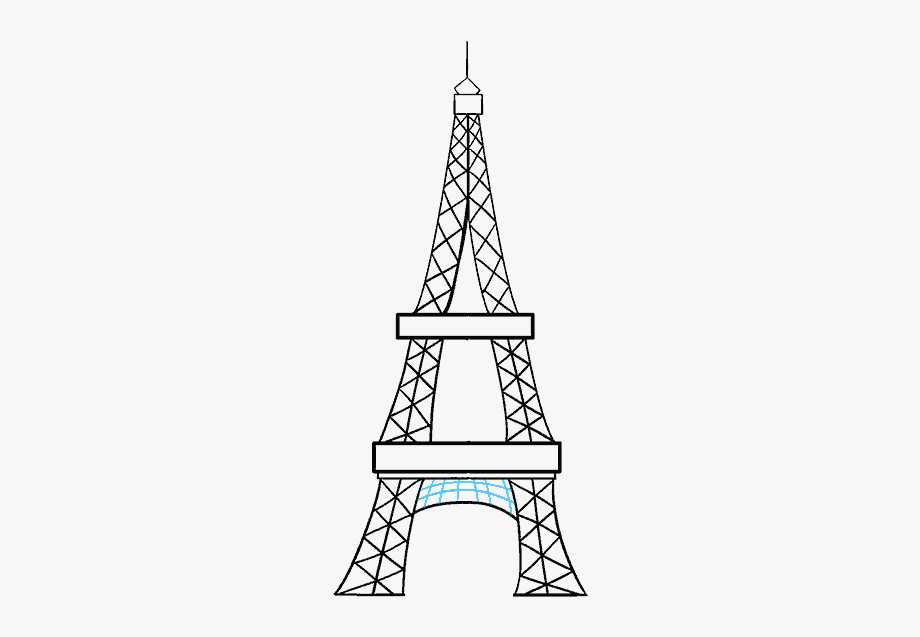 how to draw the eiffel tower cartoon paris eiffel tower drawing easy at paintingvalleycom to how tower eiffel cartoon draw the