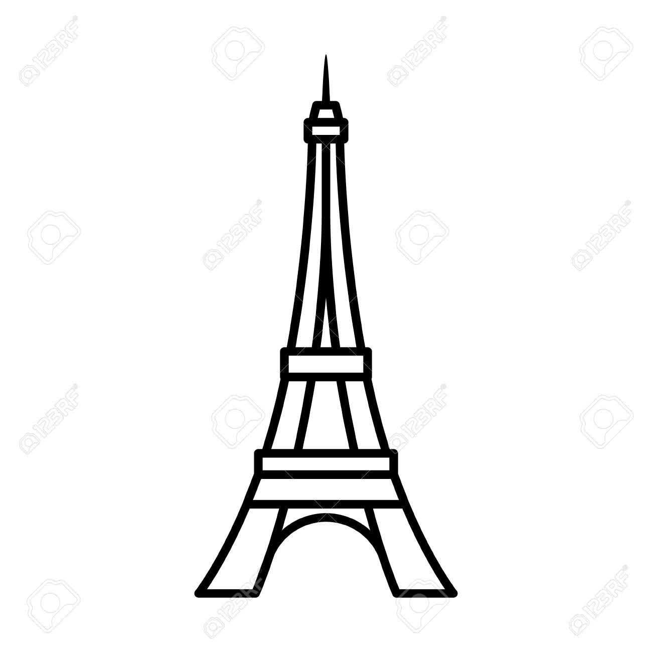 how to draw the eiffel tower cartoon paris paris eiffel tower cartoon the eiffel to draw tower how cartoon