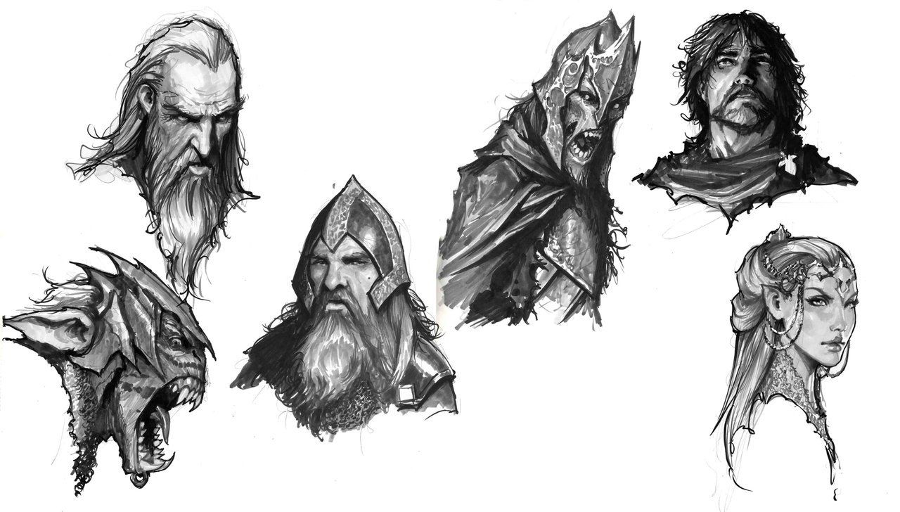 how to draw the hobbit characters awesome drawing truly captured the likeness of these how hobbit to characters the draw