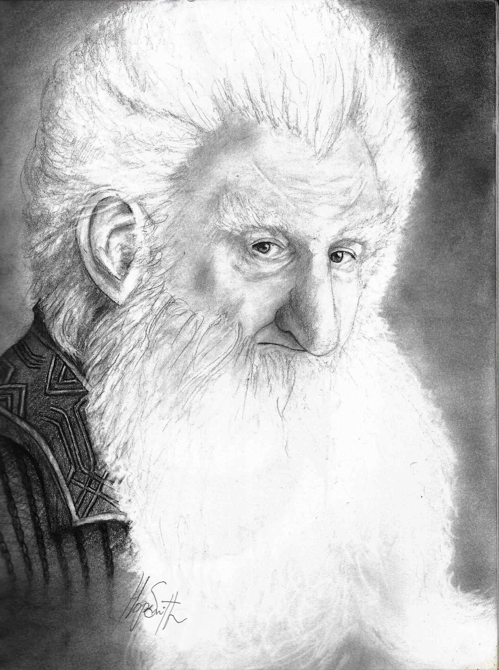 how to draw the hobbit characters ken stott as balin from the hobbit trilogy pencil on draw the characters to hobbit how