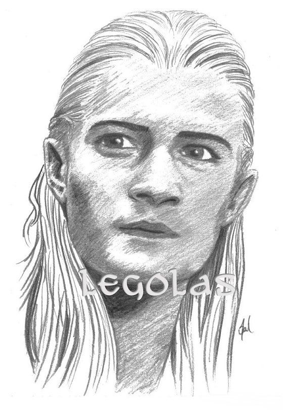 how to draw the hobbit characters legolas the lord of the rings the hobbit by kathrynlisa on the draw hobbit characters to how