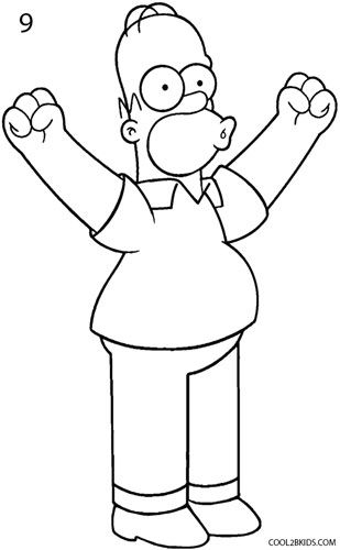 how to draw the simpsons how to draw homer simpson with images simpsons draw simpsons to how the