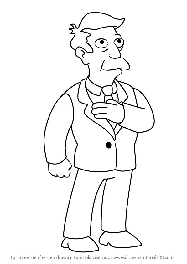 how to draw the simpsons learn how to draw moe szyslak from the simpsons the the to simpsons how draw