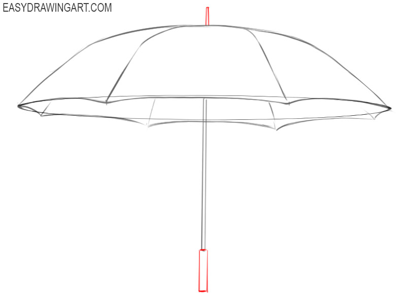 how to draw umbrella step by step how to draw an umbrella easy drawing art step step draw by to how umbrella