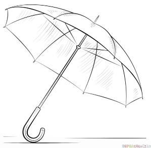 how to draw umbrella step by step how to draw an umbrella step by step drawing tutorials to step how umbrella draw by step