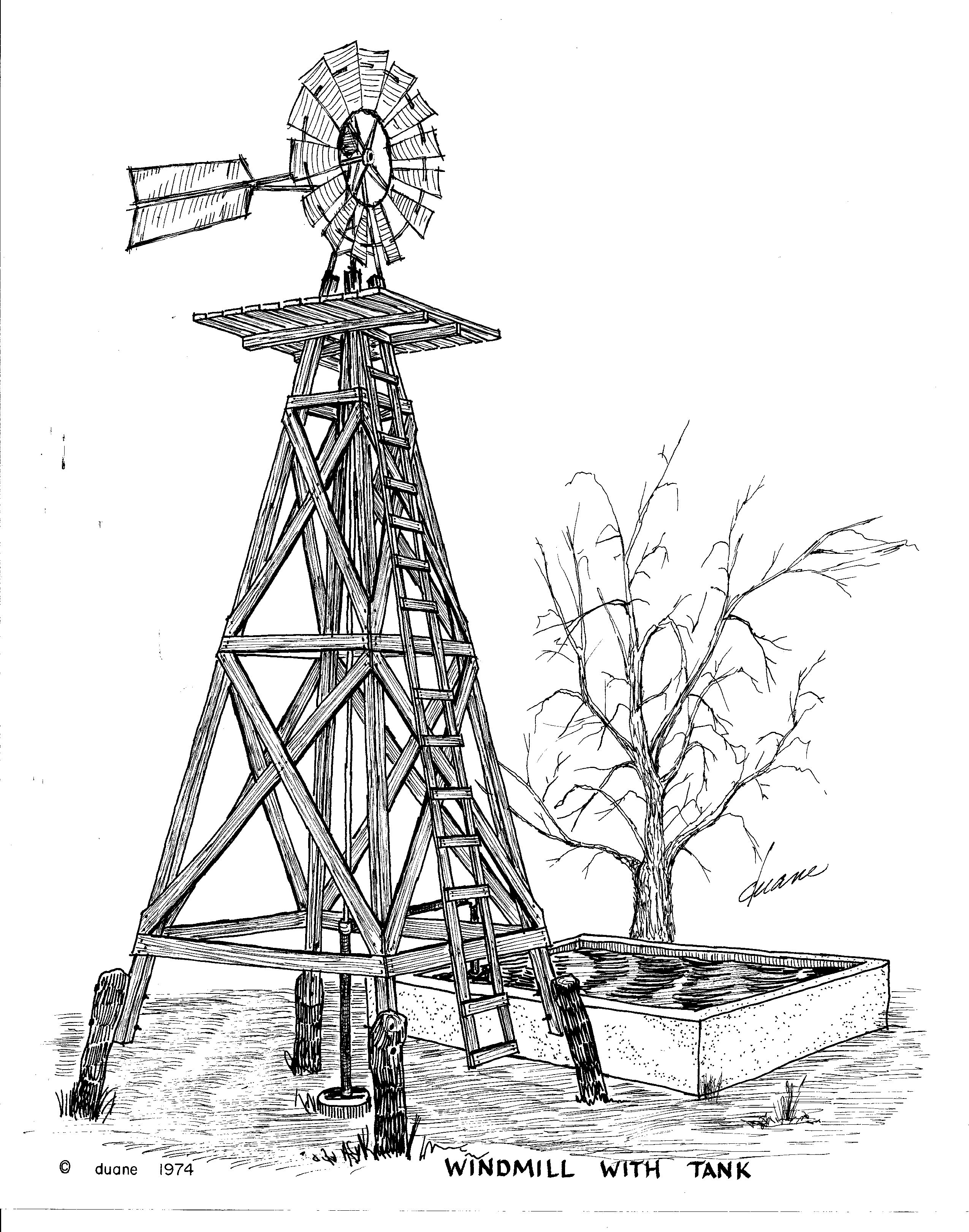 how to draw windmill step by step how to draw a farm windmill step by step drawing art ideas to step windmill step by how draw