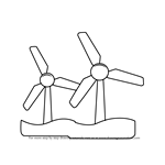 how to draw windmill step by step learn how to draw a windmill with house windmills step to windmill step by how step draw