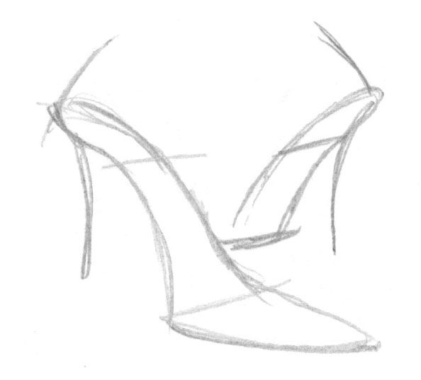 how to sketch heels high heels by bikerbloke drawing high heels fashion sketch to heels how