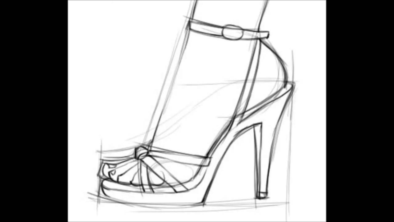 how to sketch heels high heels drawing free download on clipartmag heels sketch how to