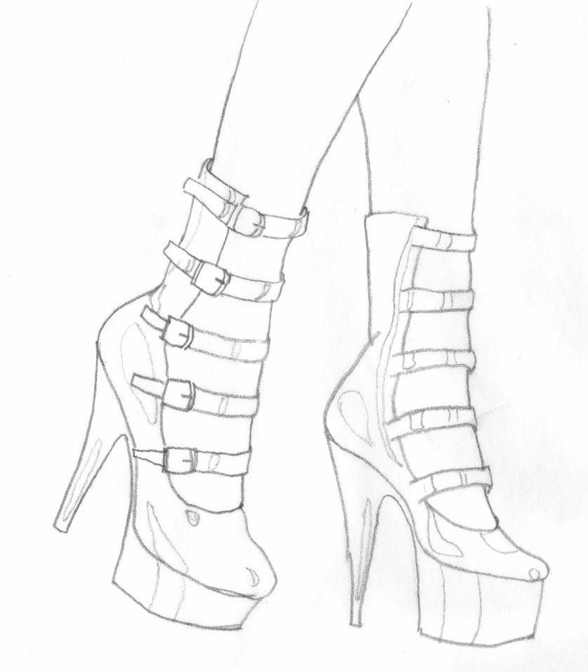 how to sketch heels how to design and sketch fashion shoes sketches fashions how to sketch heels