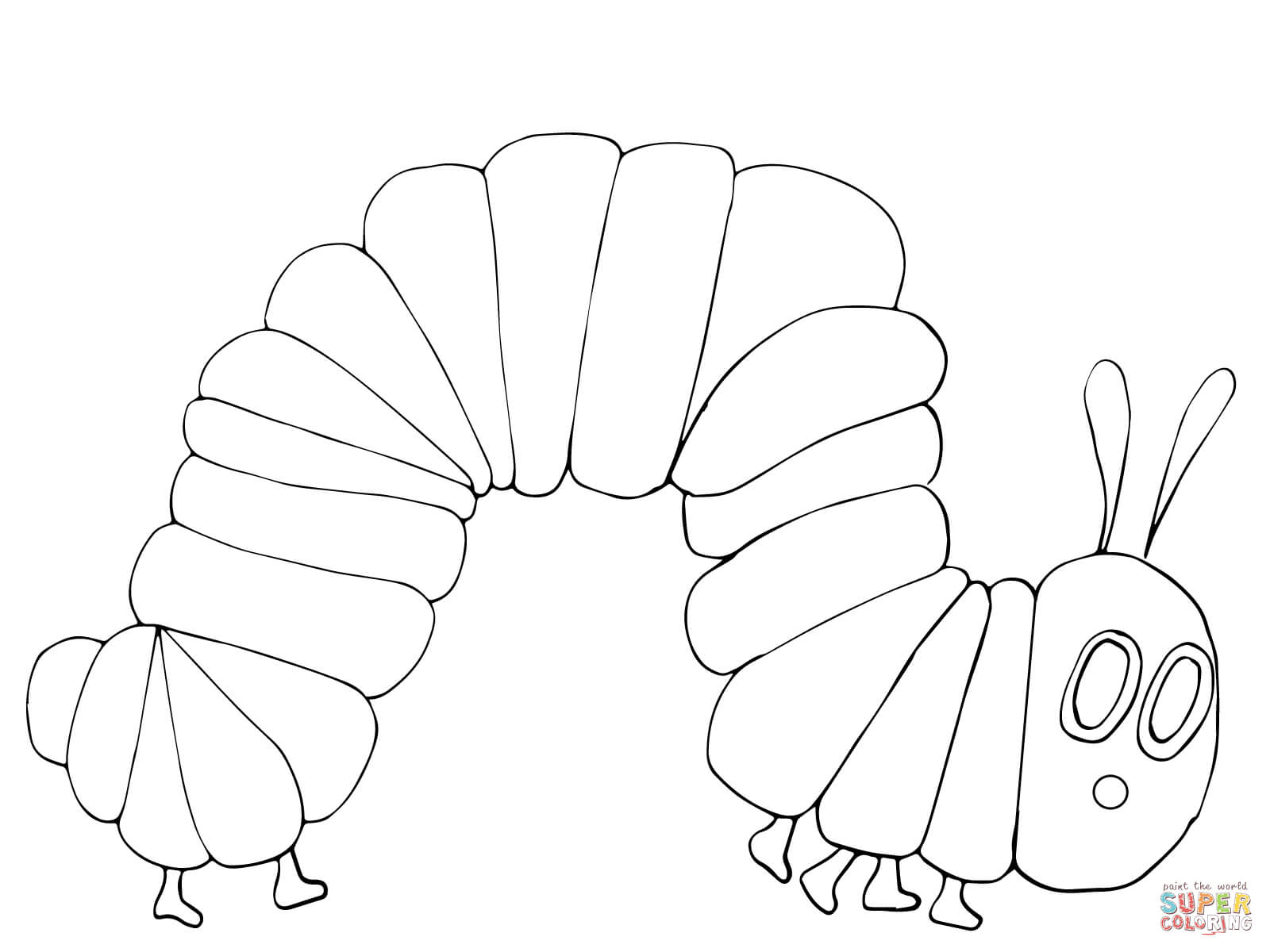 hungry caterpillar coloring sheets very hungry caterpillar coloring pages coloring home hungry sheets caterpillar coloring