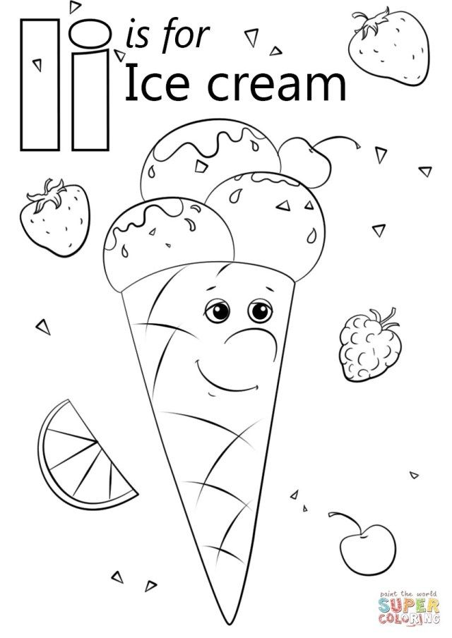 i coloring pages for preschool 9 best images of cone shape worksheets for preschoolers coloring i preschool for pages