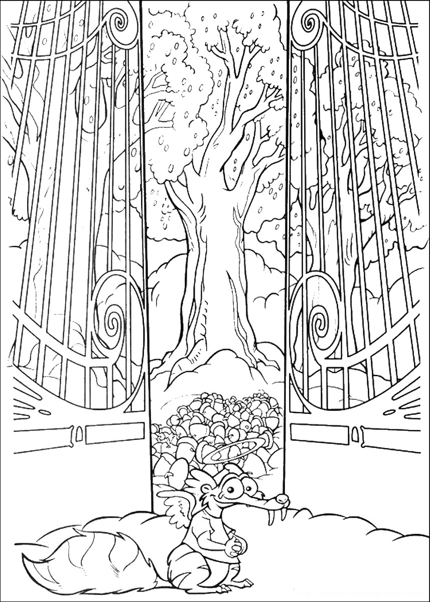 ice age printables ice age coloring pages ice printables age 1 1