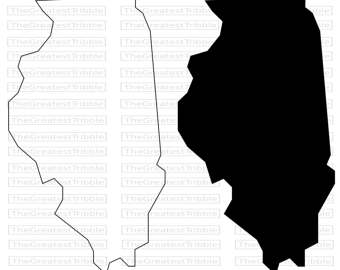 illinois silhouette illinois silhouette at getdrawings free download silhouette illinois