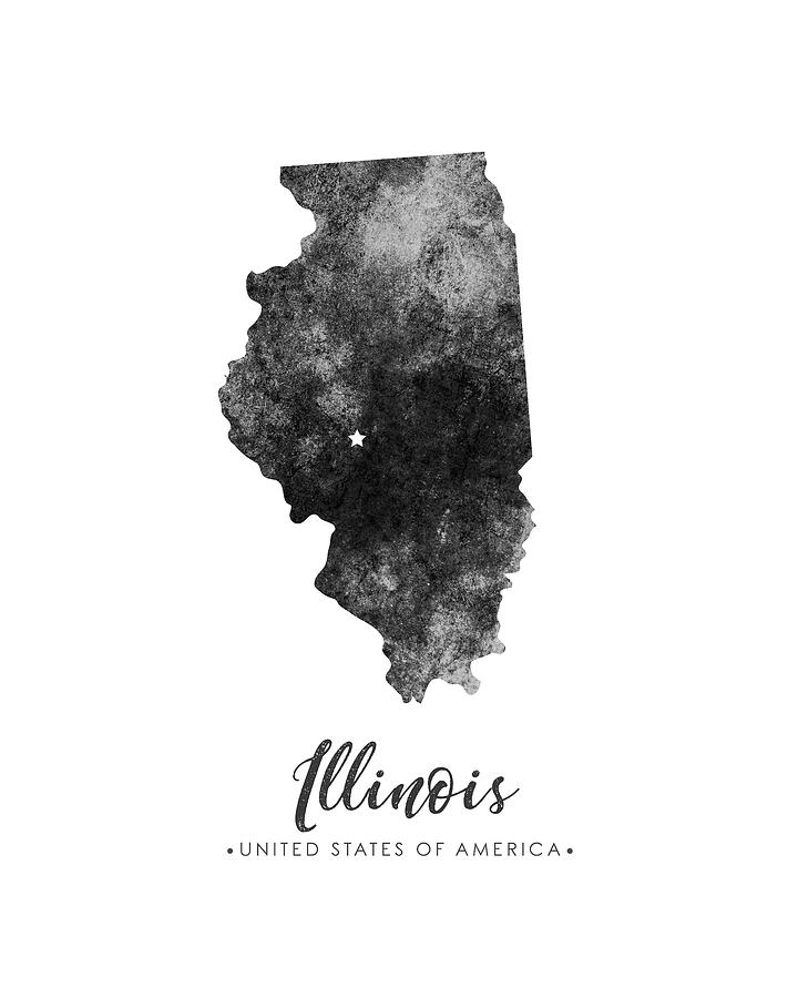 illinois silhouette pencil shading drawing at getdrawings free download illinois silhouette