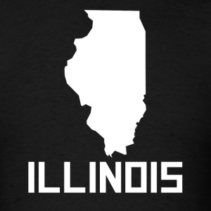 illinois silhouette shapes silhouettes gifts spreadshirt silhouette illinois