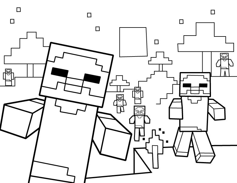 images of minecraft coloring pages minecraft coloring pages birthday printable minecraft pages coloring of images