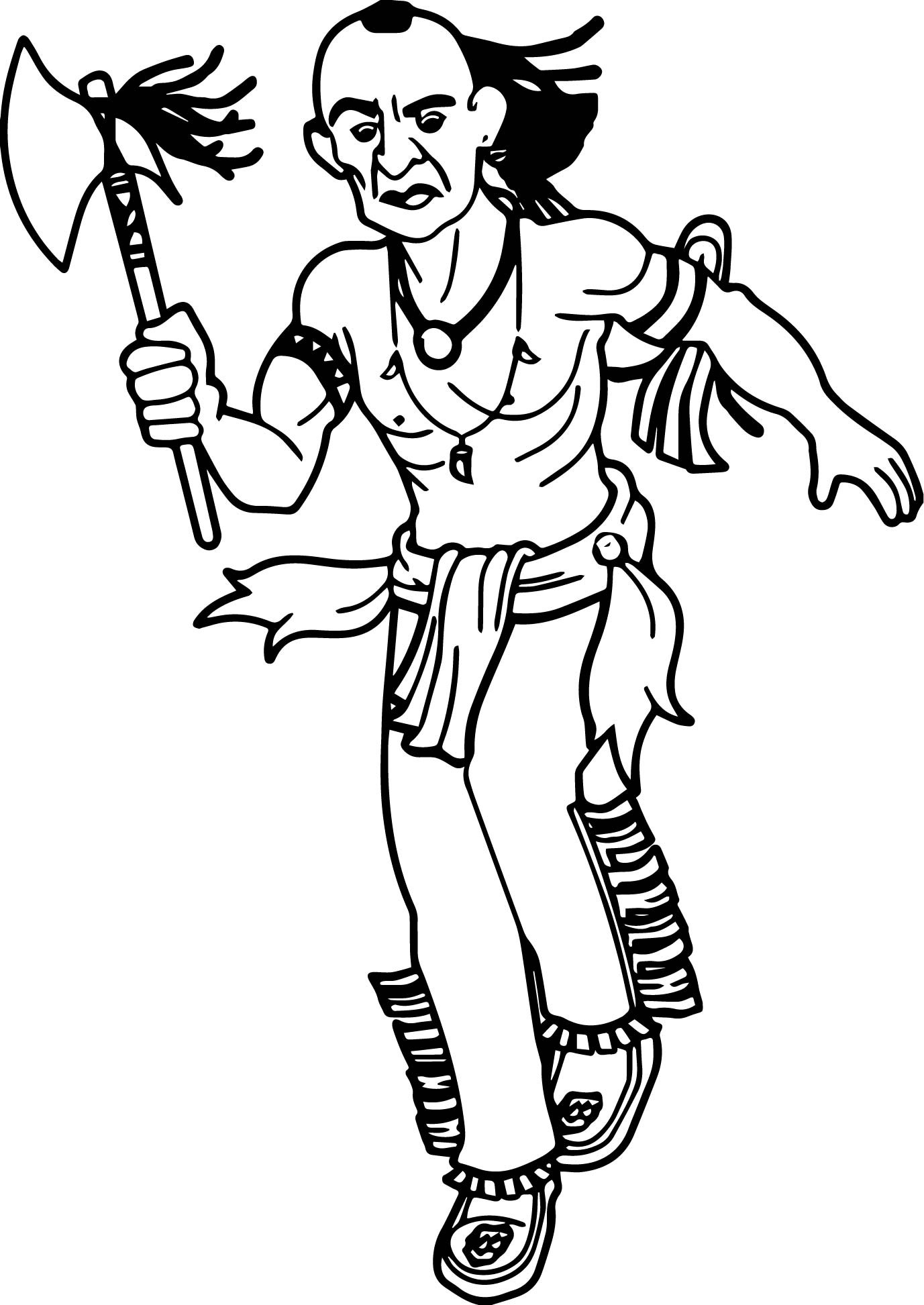 indian coloring page cherokee indian coloring pages coloring home coloring indian page