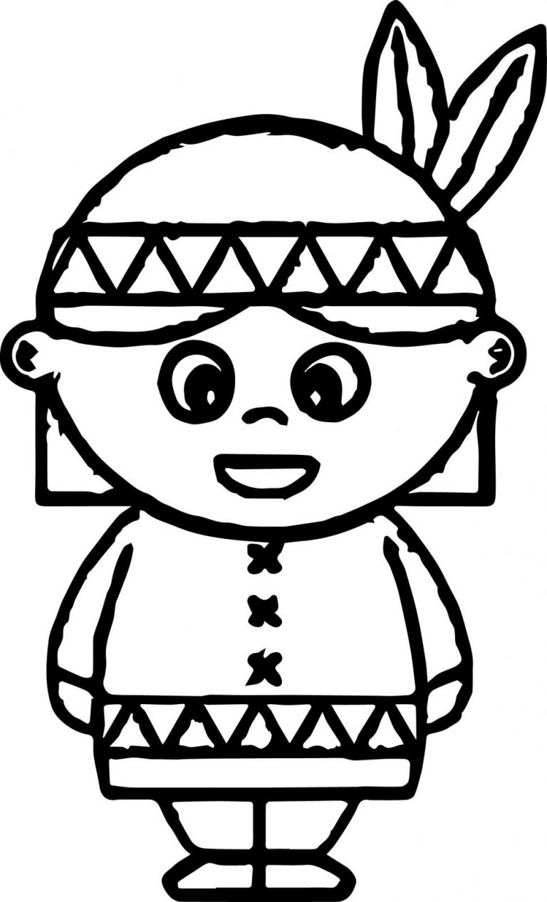 indian coloring page indian chief coloring page at getcoloringscom free indian coloring page