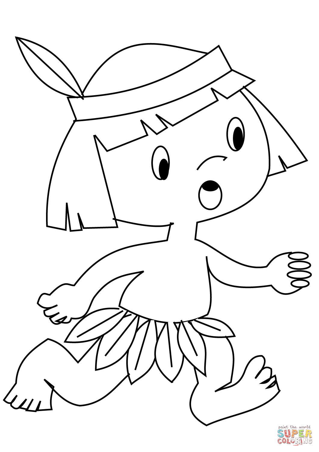 indian coloring page native american indian coloring pages page indian coloring