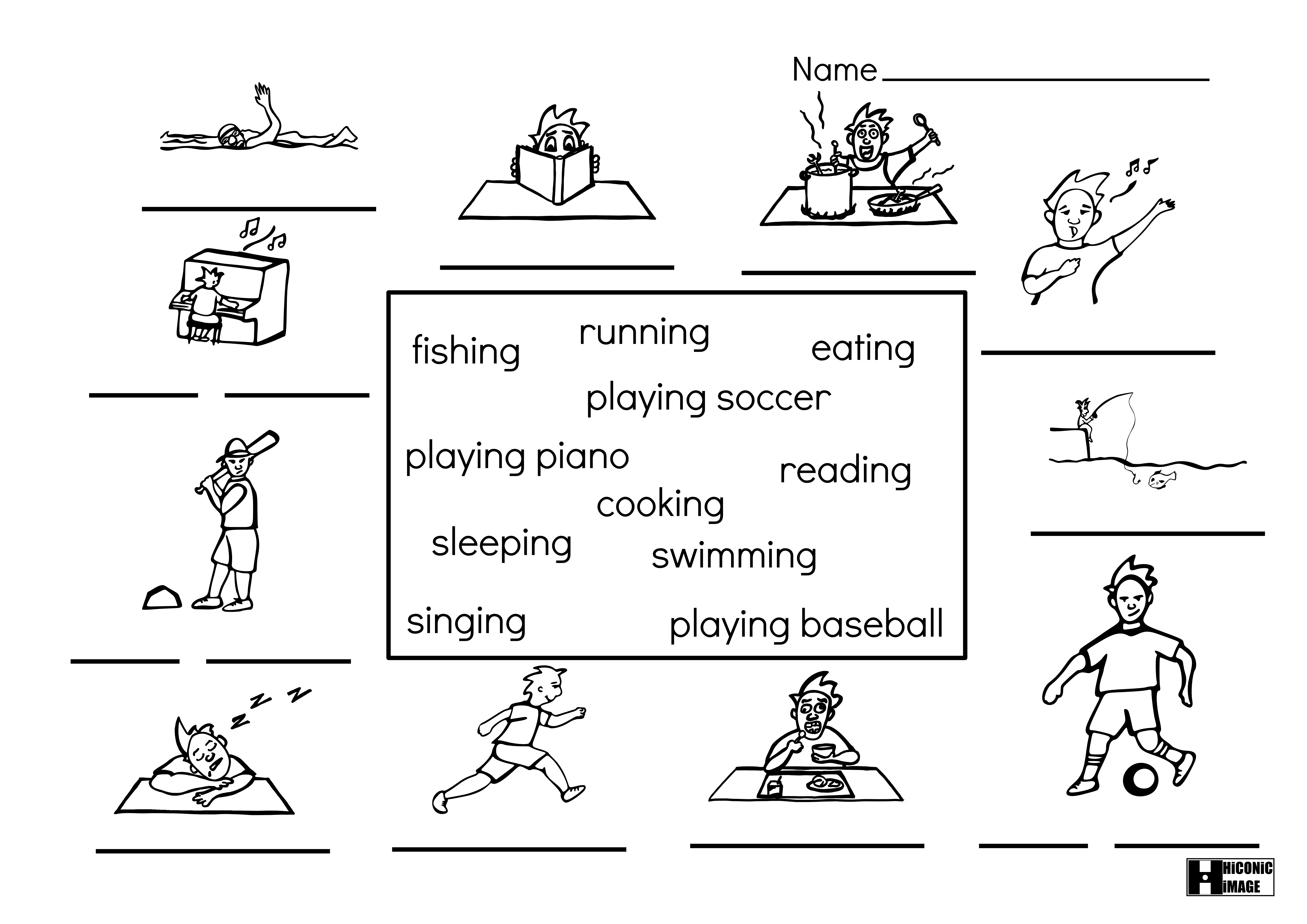 ing pages 12 best images of ing family worksheets ing word family ing pages