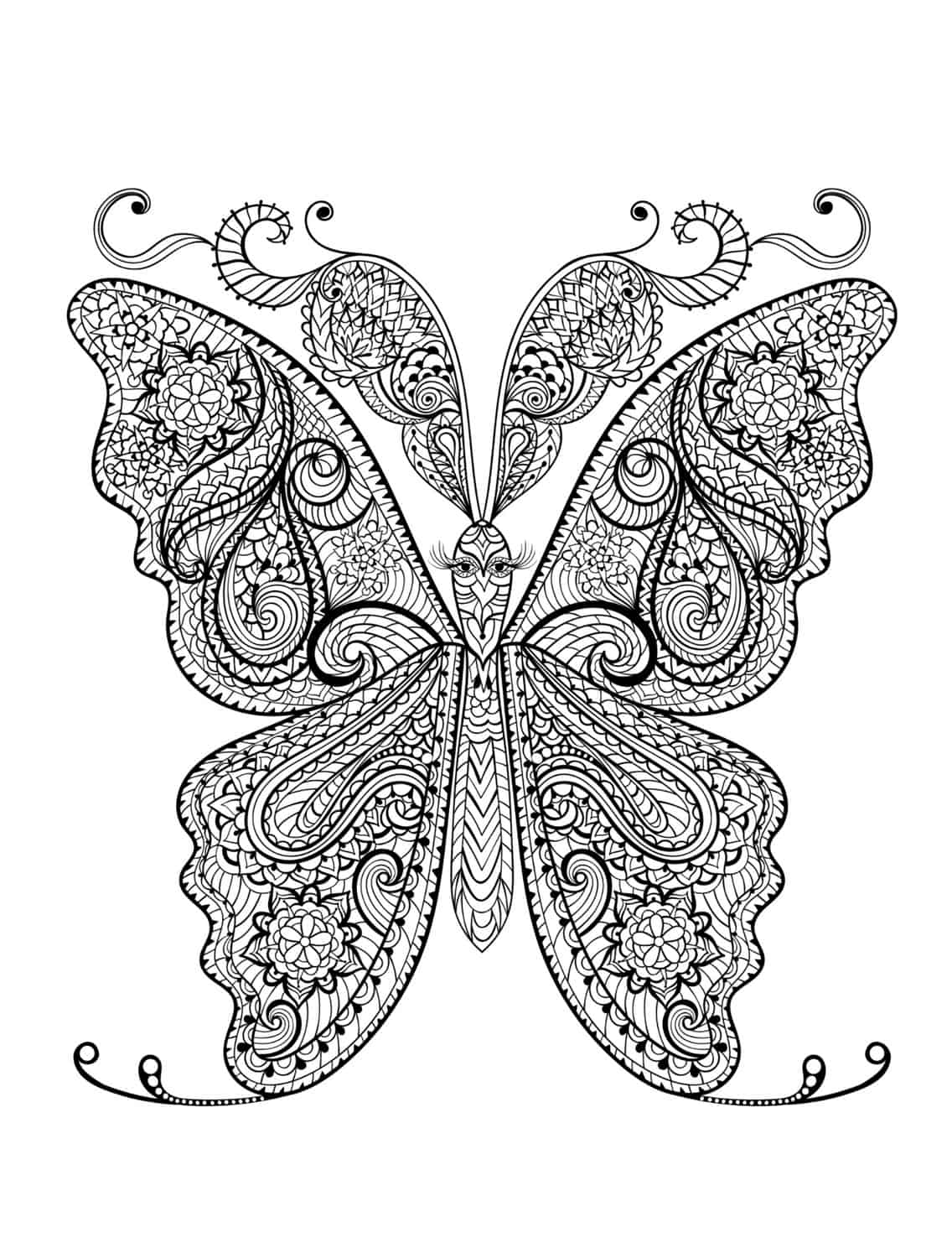 insect coloring pictures 23 free printable insect animal adult coloring pages insect pictures coloring