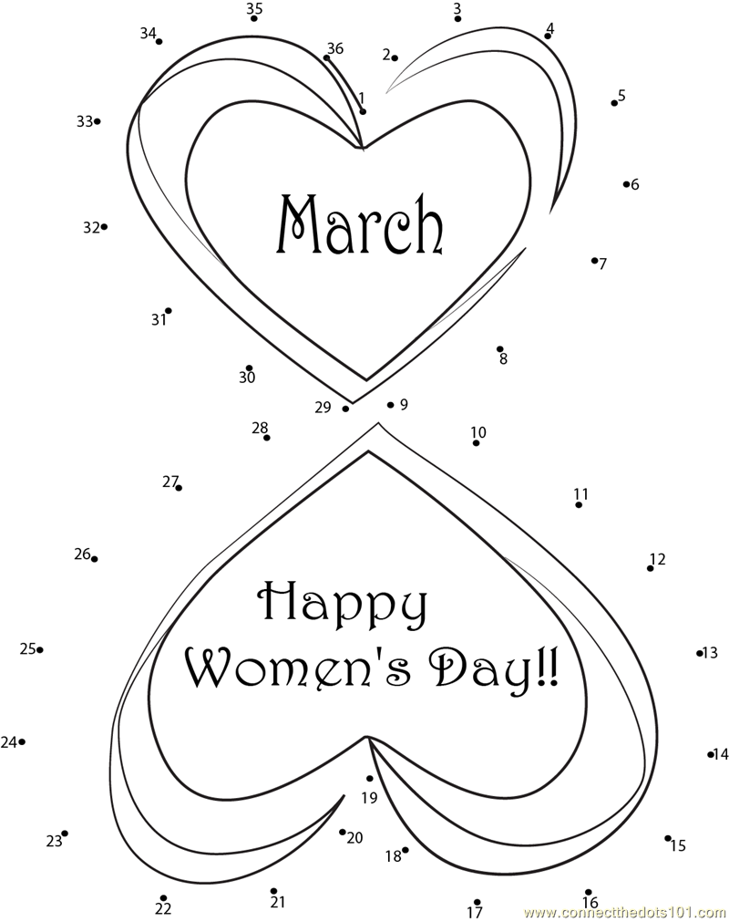 international womens day coloring pages happy international women39s day dot to dot printable womens day coloring pages international