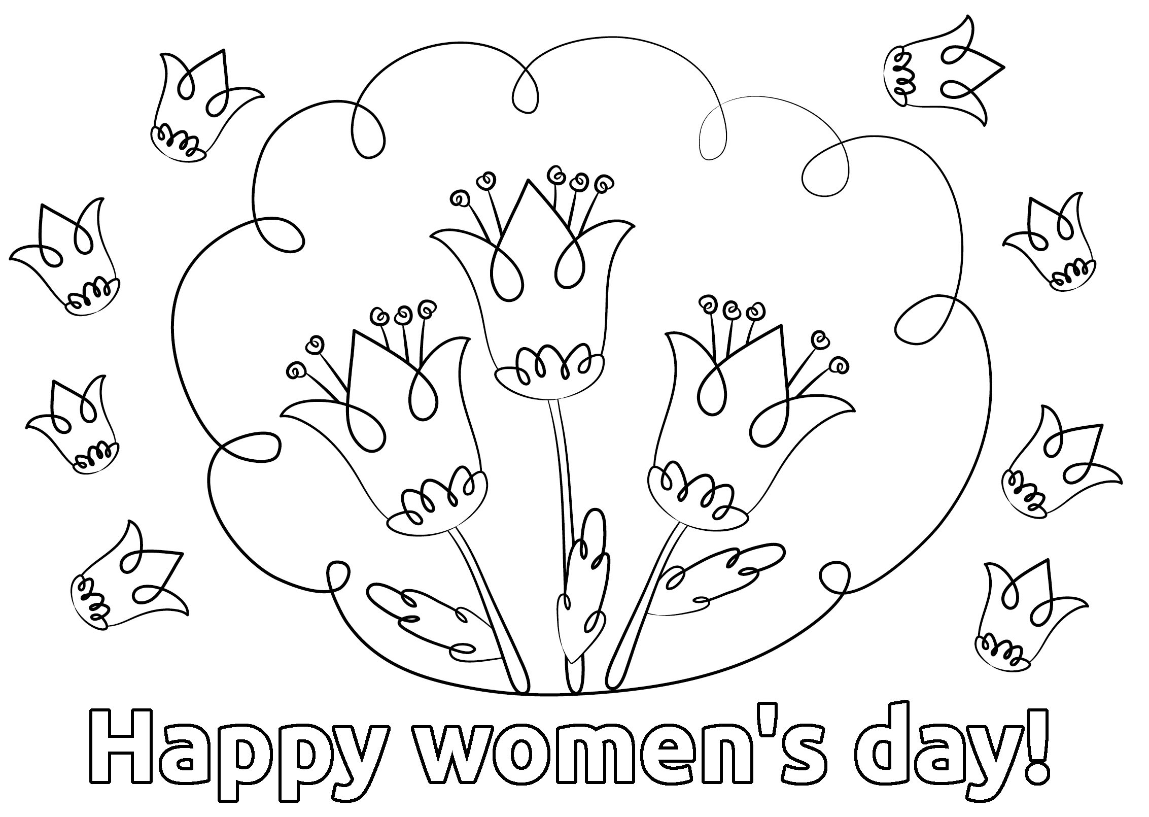 international womens day coloring pages international women39s day activities free printables womens coloring international day pages