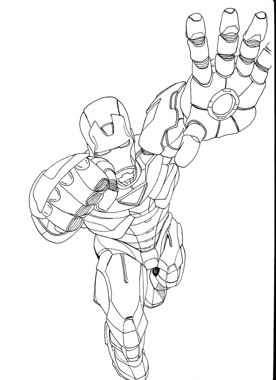 iron man cartoon coloring pages free printable iron man coloring pages man pages cartoon iron coloring