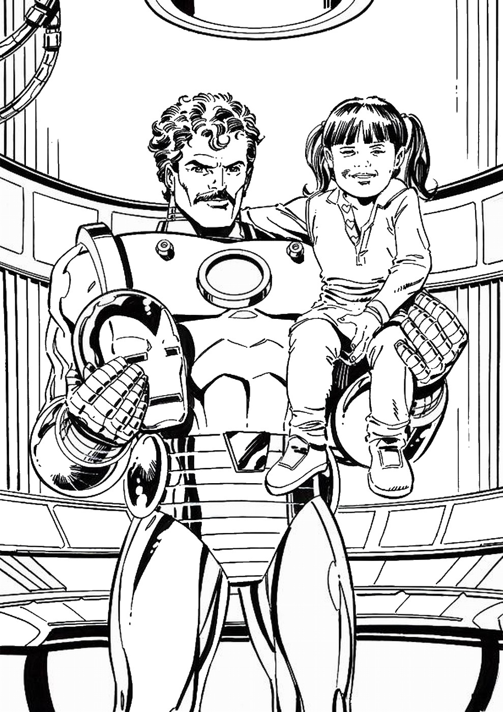 iron man cartoon coloring pages how to draw iron man chibi superheroes avengers iron pages man coloring cartoon