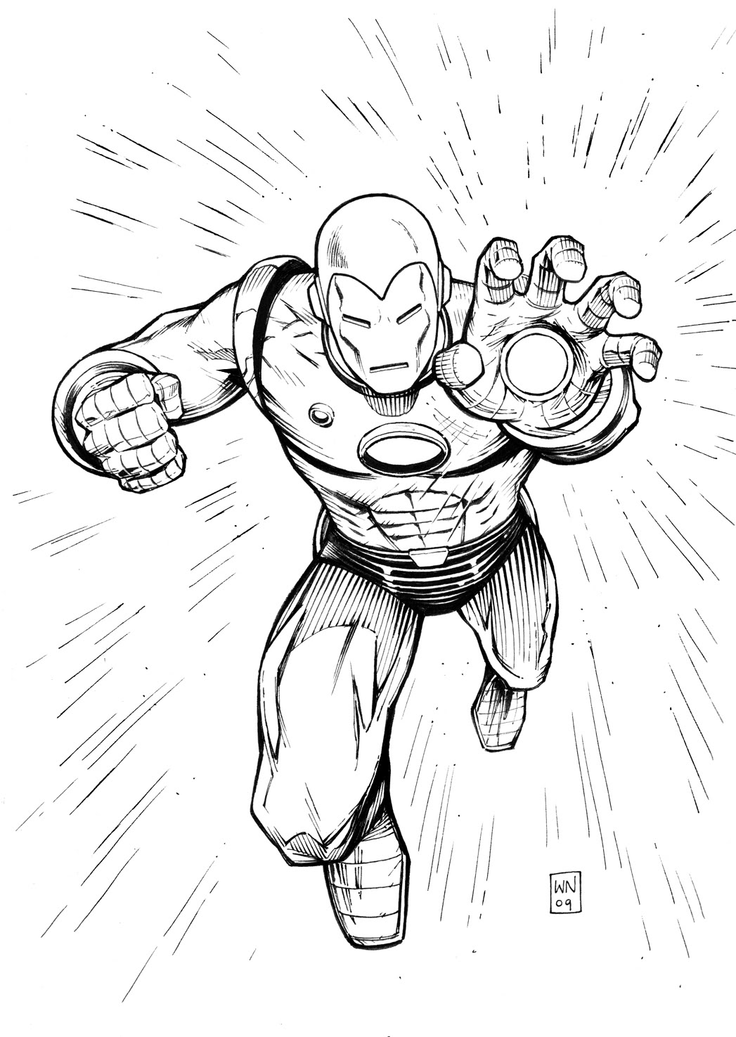 iron man cartoon coloring pages iron man ready ultimate weapon coloring page superhero iron pages coloring cartoon man