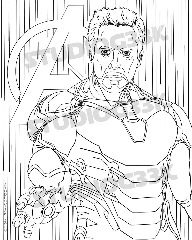 iron man coloring pages endgame 25 mejor buscando dibujos para colorear de iron man coloring man iron endgame pages