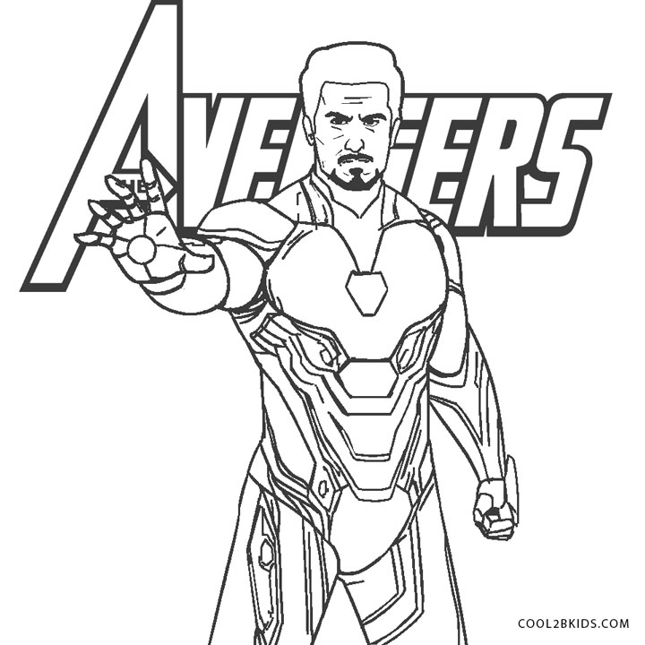 iron man coloring pages endgame drawing the avengers coloring page coloring pages endgame iron man