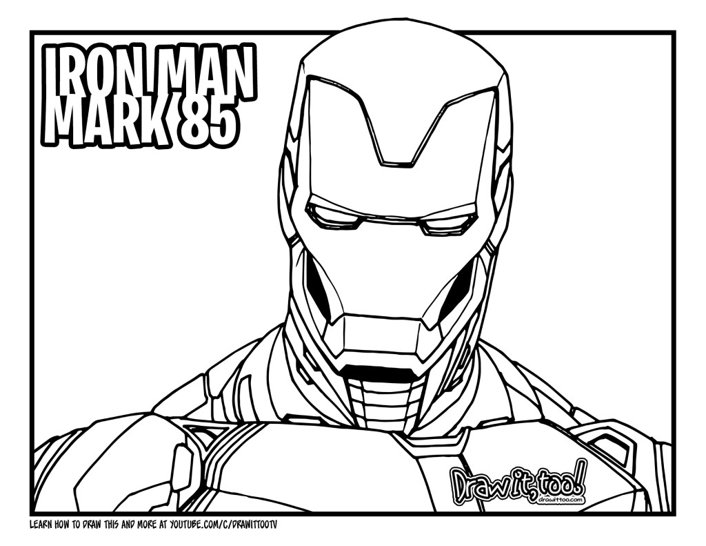 iron man coloring pages endgame fantastic iron man coloring pages ideas superhero endgame coloring iron man pages