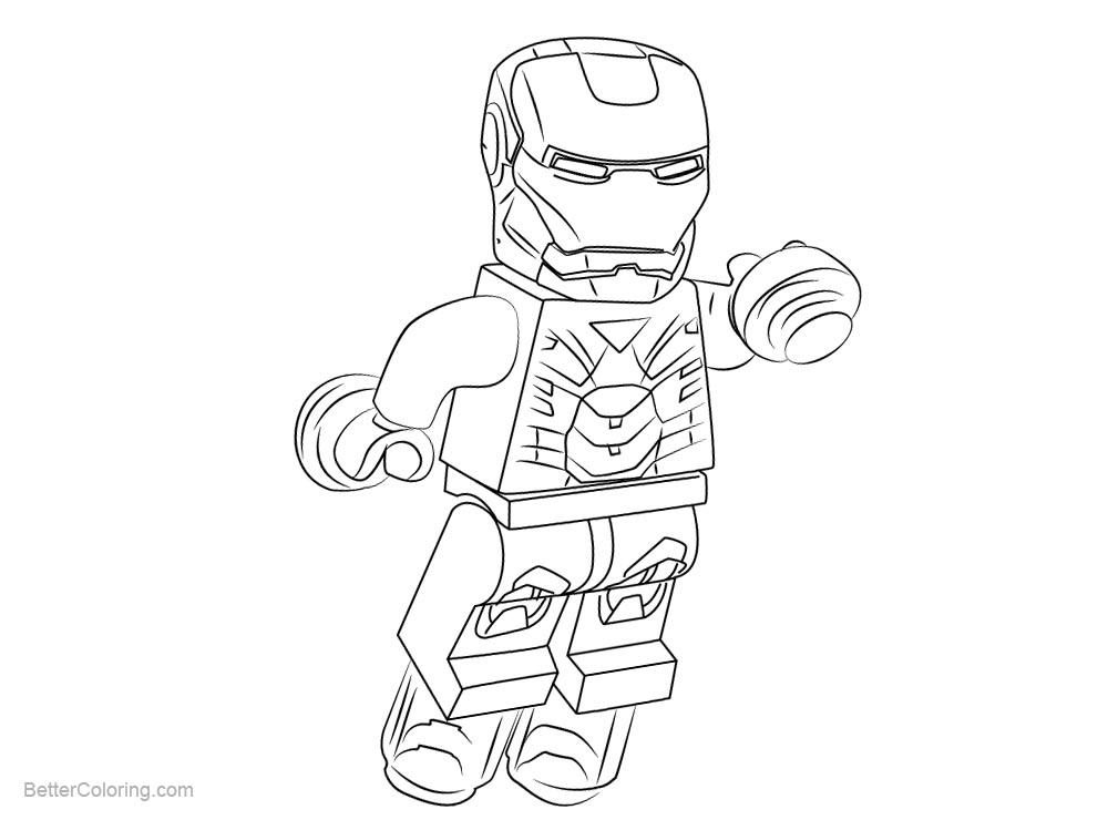 iron man lego coloring pages lego iron man coloring sheets high quality coloring lego pages man iron coloring